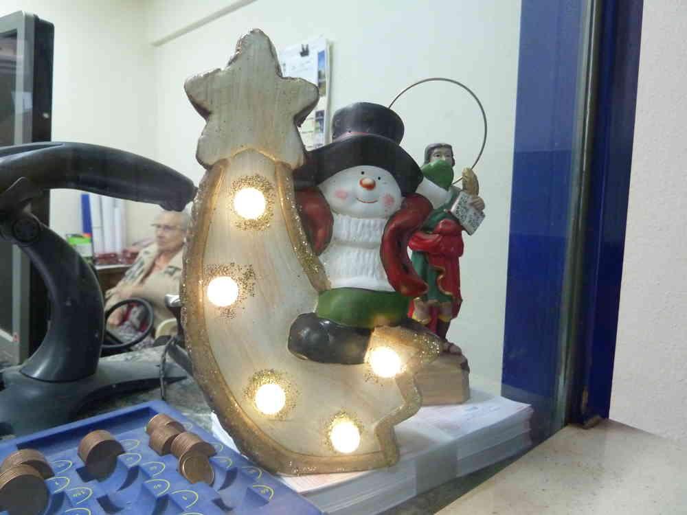 la decoración navideña y la lotería siempre han sido el preámbulo de la Navidad.